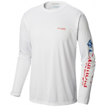 Men's Terminal Tackle PFG Sleeve LS Shirt by Columbia in Hope Ar