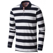 Men's Harborside Long Sleeve Rugby Polo by Columbia