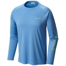 Men's Terminal Tackle Heather Ls Shirt by Columbia