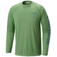 Men's Terminal Tackle Heather LS Shirt by Columbia in Auburn Al