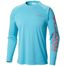 Terminal Tackle Heather LS Shirt by Columbia in Hoover Al
