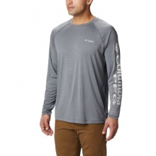 Men's Terminal Tackle Heather LS Shirt by Columbia in San Ramon CA