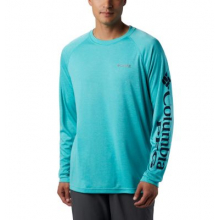 Men's Terminal Tackle Heather LS Shirt by Columbia in Opelika Al