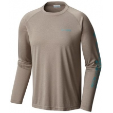 Men's Extended Terminal Tackle Heather Ls Shirt by Columbia