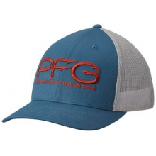 Unisex Pfg Mesh Snap Back Ball Cap by Columbia in Spring Tx