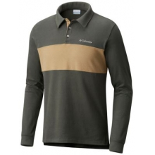 Men's Ward River Rugby Long Sleeve Shirt by Columbia in Tucson Az