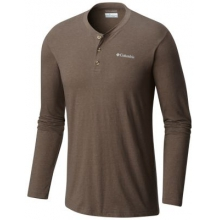 Men's Cullman Crest Long Sleeve Henley by Columbia in Athens Ga