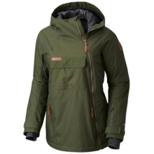 Women's Catacomb Crest On Snow Anorak by Columbia
