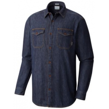 Men's Pilot Peak Flannel Lined Denim Shirt