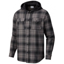 Men's Flare Gun Flannel Hoodie by Columbia in San Ramon CA