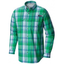 Men's Super Blood And Guts Ls Woven Shirt by Columbia