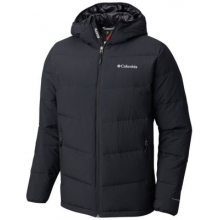 Men's Extended Lone Fir 650 Turbodown Hooded Jacket by Columbia in Folsom Ca
