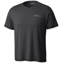 Men's Tech Trail V-Neck Shirt by Columbia in Medicine Hat Ab