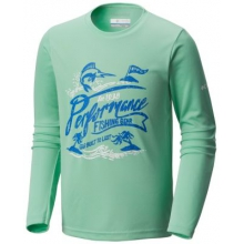 Youth Boy's Reel Adventure Long Sleeve Tee by Columbia