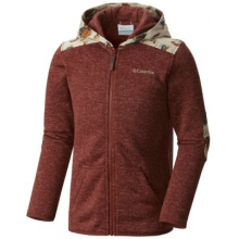 Boy's Birch Woods II Full Zip Fleece