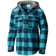 Youth Unisex Boulder Ridge Flannel Hoodie by Columbia