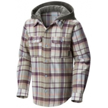 Youth Boulder Ridge Flannel Hoodie by Columbia in Hope Ar
