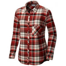 Women's Extended Deschutes River Flannel Shirt by Columbia