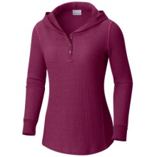 Women's Weekday Waffle II Henley by Columbia in Rocky View No 44 Ab