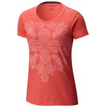 Women's Floral Block Short Sleeve Tee by Columbia