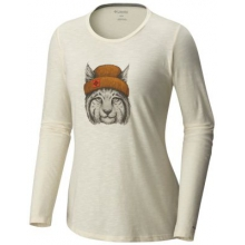 Women's Feline Groovy Long Sleeve Tee