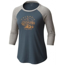 Women's Mount Tabor Baseball Tee by Columbia in Forest City Nc