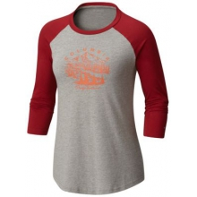 Women's Mount Tabor Baseball Tee by Columbia in Nanaimo Bc