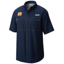 Men's Collegiate Low Drag Offshore SS Shirt by Columbia in Birmingham Al