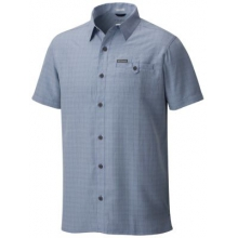 Men's Declination Trail II Short Sleeve Shirt by Columbia in Red Deer Ab