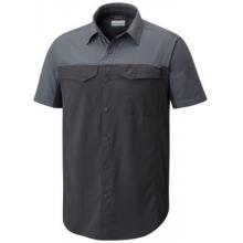 Men's Silver Ridge Blocked Short Sleeve Shirt by Columbia