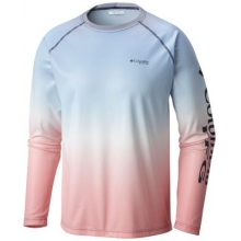 Men's Solar Shade Printed Long Sleeve by Columbia