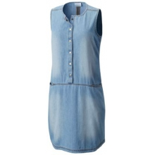 Women's Pilot Peak Chambray Dress by Columbia in Rocky View No 44 Ab