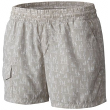 Women's Silver Ridge Printed Pull On Short by Columbia in Burbank Ca