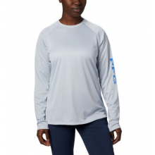 Women's Tidal Tee Heather Long Sleeve by Columbia