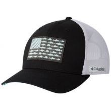 Unisex PFG Fish Flag Mesh Snap Back - High by Columbia in Aurora CO