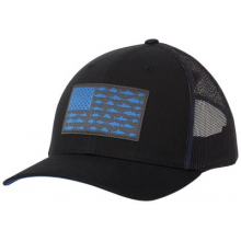 PFG Mesh Snap Back Fish Flag Ball Cap by Columbia in Fort Smith Ar