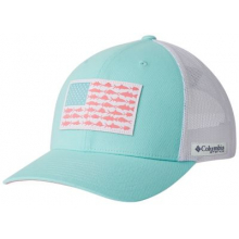 PFG Mesh Snap Back Fish Flag Ball Cap by Columbia in Hope Ar