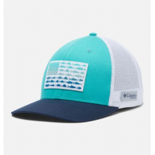 Unisex PFG Fish Flag Mesh Snap Back - High by Columbia in Loveland CO
