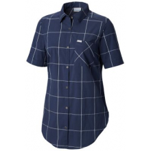 Women's Anytime Casual Stretch SS Shirt by Columbia in Lloydminster Ab