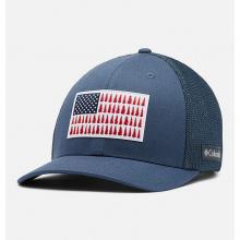 Unisex Columbia Tree Flag Mesh Ball Cap - High