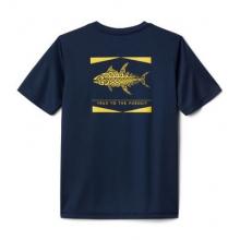 Youth Boy's PfgOffshore Short Sleeve Shirt by Columbia