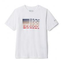 Youth Boy's PfgFinatic Short Sleeve Shirt by Columbia in East Wenatchee WA