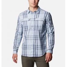 Men's Silver Ridge 2.0 Plaid L/S Shirt by Columbia
