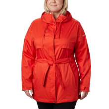 Women's Extended Pardon My Trench Rain Jacket by Columbia