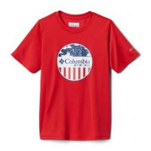 Youth Boy's Toddler PFG Stamp Short Sleeve Shirt