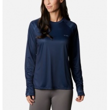 Women's Tidal Tee PFG Printed Triangle Ls by Columbia in Loveland CO