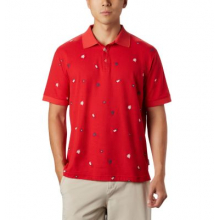 Men's PFG Global Tossed Embroidery Polo