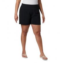 Women's Extended Slack Water Woven Short