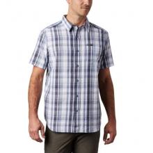 Men's Brentyn Trail Ss Seersucker Shirt by Columbia
