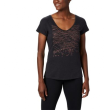 Women's Hidden Lake V Neck Tee by Columbia in Abbotsford Bc